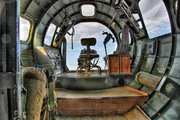 B17 Flying Fortress interior